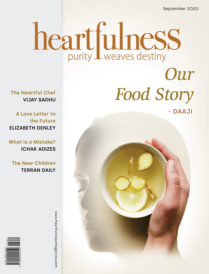 Heartfulness magazine-SEPT2020- Cover